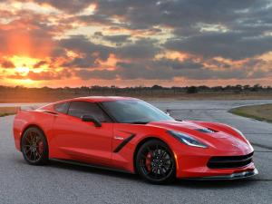 Chevrolet Corvette Stingray HPE700 Twin Turbo by Hennessey 2014 года